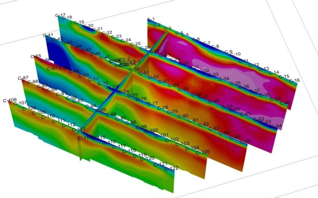 AGI Case History - Geothermal Site Investigation 3D data