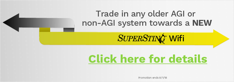 Trade in any older AGI or non-AGI system towards a new SuperSting Wifi