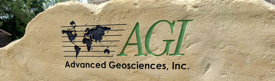 Advanced Geosciences, Inc. Front Sign