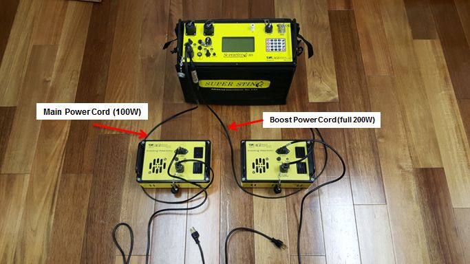 Generator Power Supplies for the SuperSting - Main and Boost