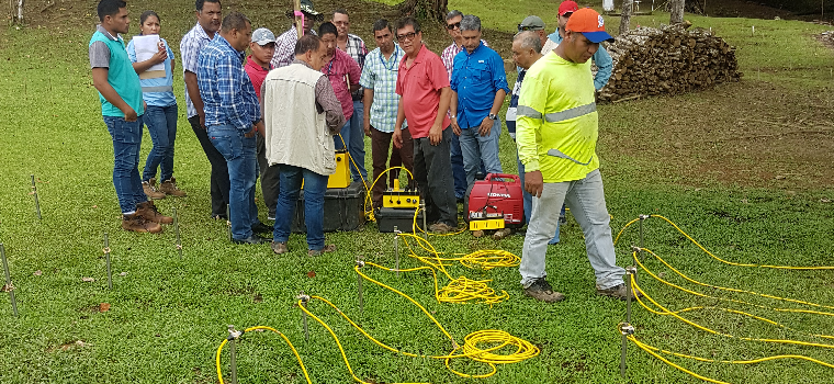 2018 AGI Panama Seminar - 3D ERI survey using 2D lines