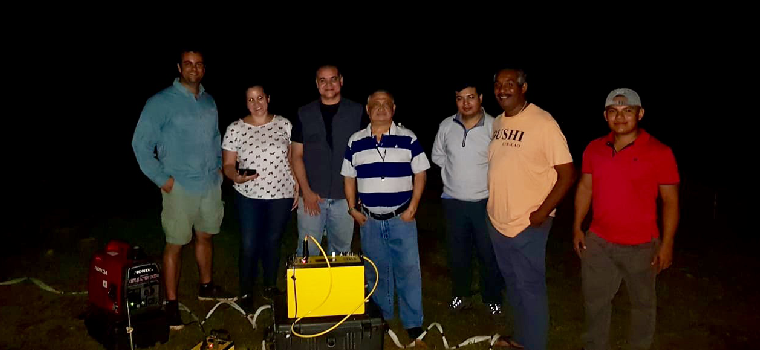 2018 AGI Panama Seminar - Surveying at night