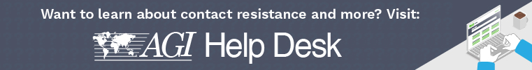 Click to visit AGI Help Desk to learn more about Contact Resistance