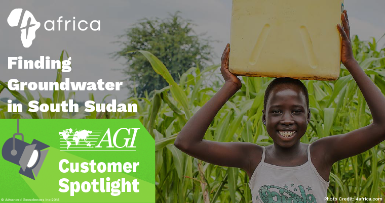 AGI Customer Spotlight: 4africa | Finding Groundwater in South Sudan