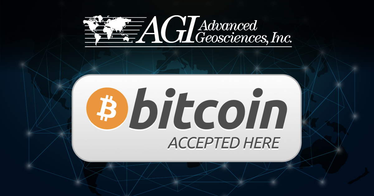 AGI Now Accepting Cryptocurrency