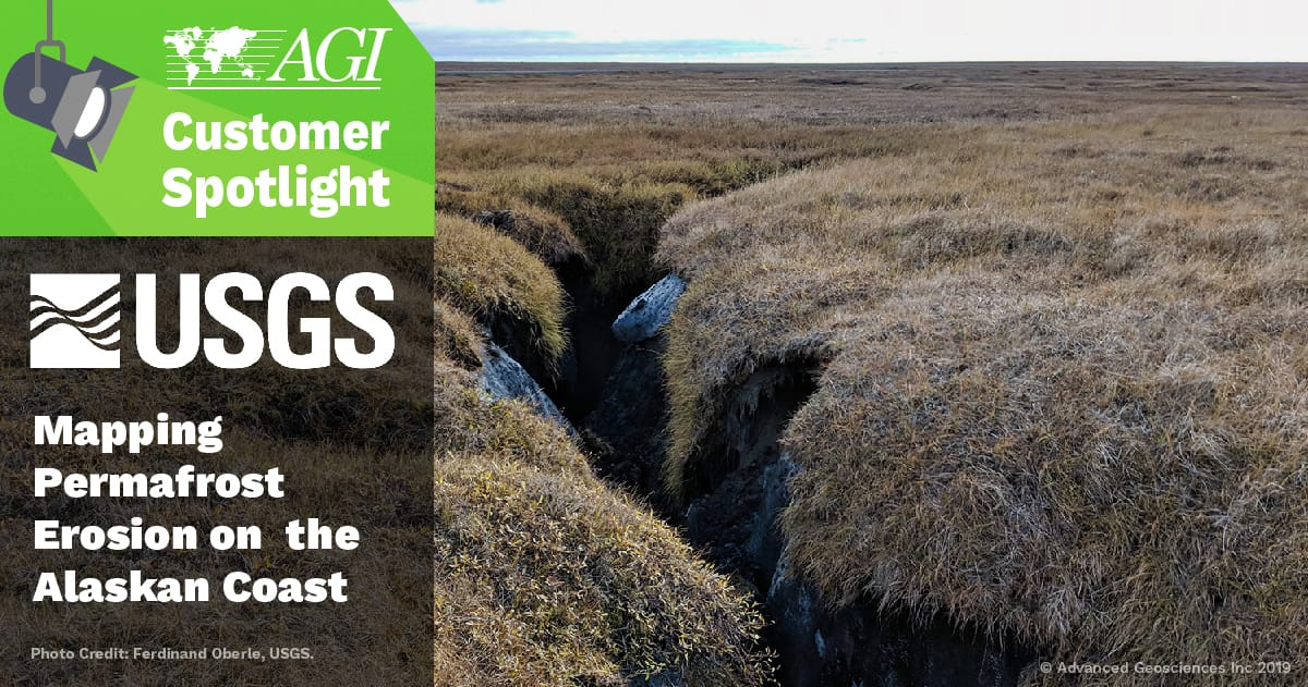 AGI Blog - Mapping Permafrost Erosion on Alaskan Coast