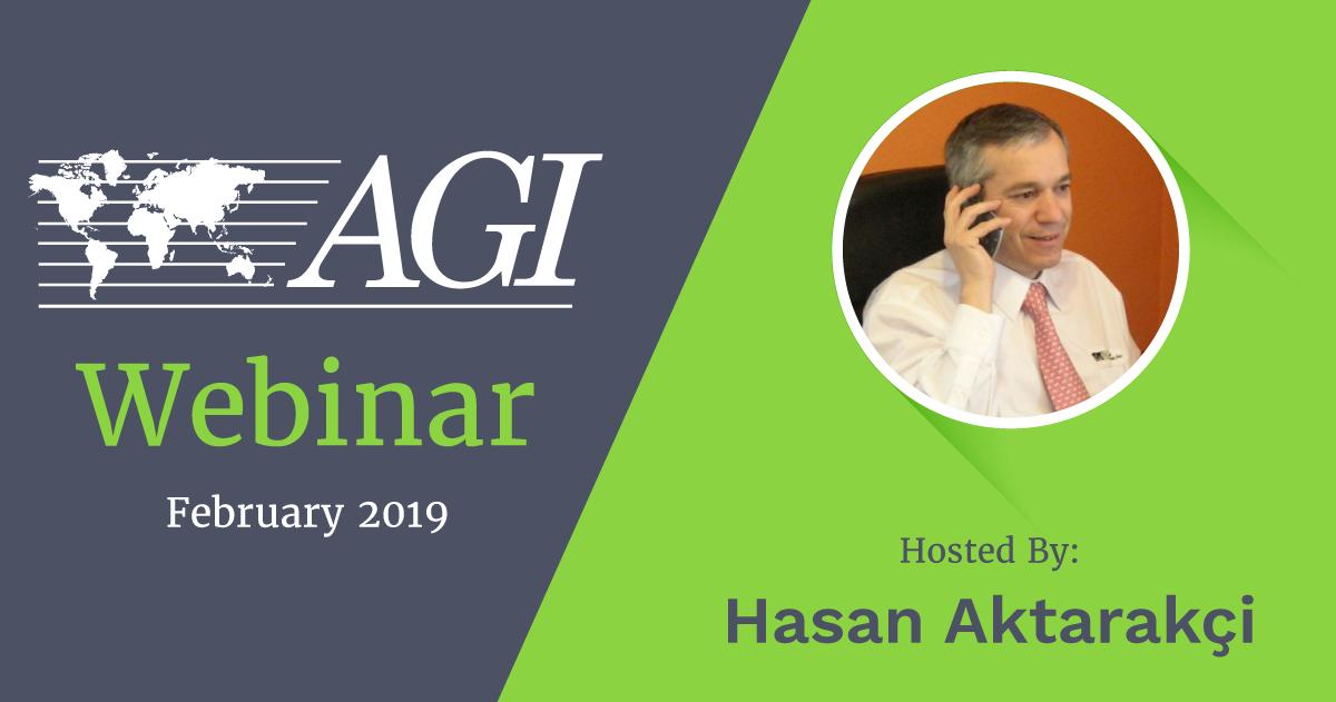 AGI February 2019 AMA Webinar hosted by Hasan Aktarakci