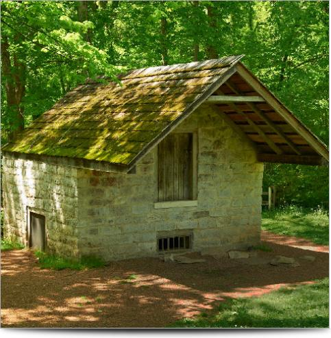 AGI Case History - Andrew Jackson Hermitage Spring House 3D survey