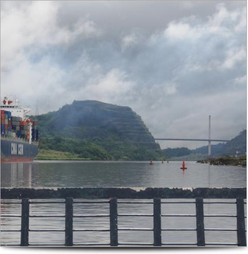 Canal de Panamá - Divisoria Continental