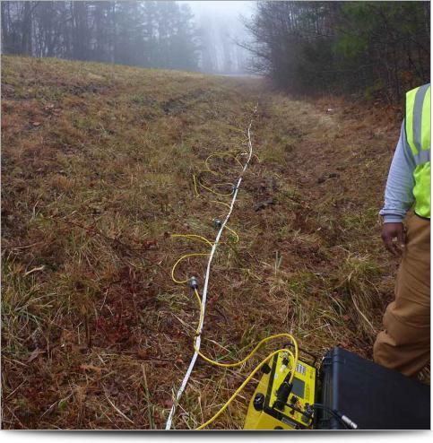 AGI Case History - Ozark Landslide Survey Line