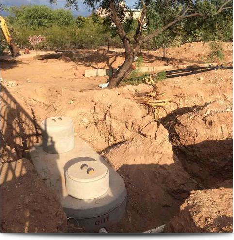 AGI Case History - Tucson 3D IP Survey - Installed Septic Tank