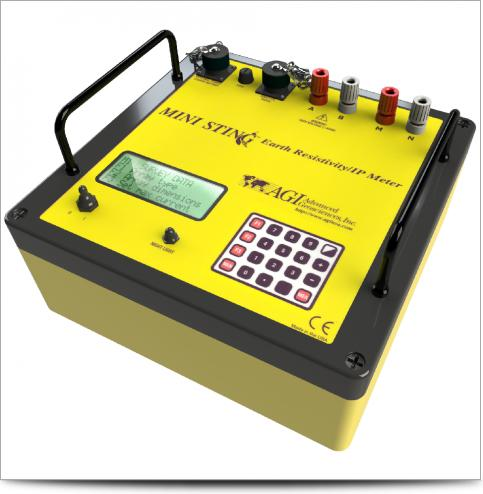 MiniSting Geophysical Instrument for  Resistivity/P/SP