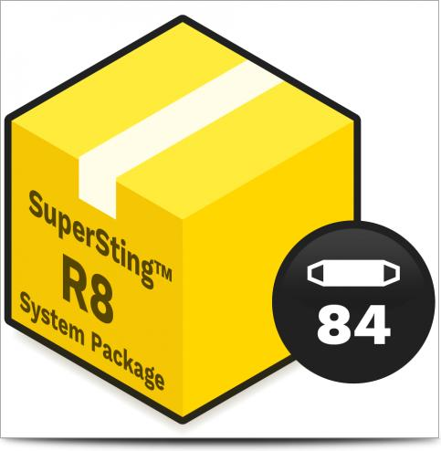 AGI System Package - SuperSting R8 Wifi with 84 electrodes