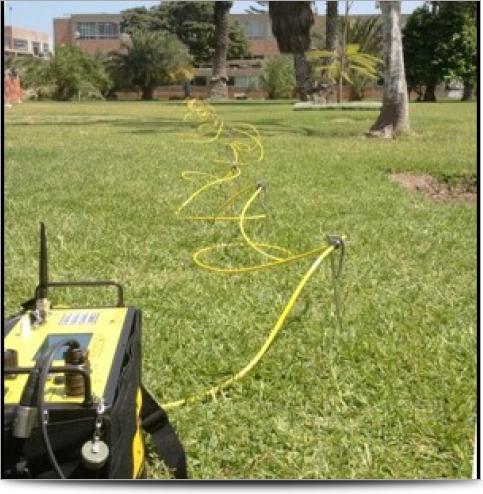 Exploring soil resistivity in lima peru agi for Soil resistivity