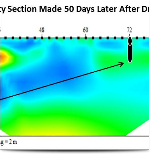 Monitoring Resistivity Section