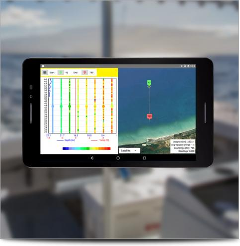 Super Sting Marine Resistivity App Example
