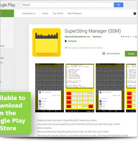 AGI SSM App in the Google Play Store