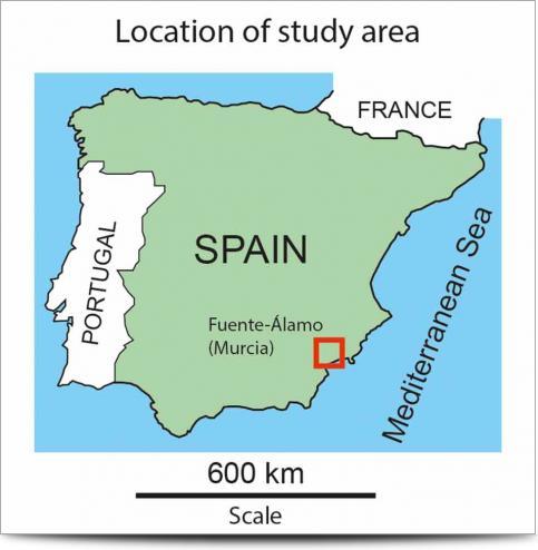 Pig Farm Survey Location Map