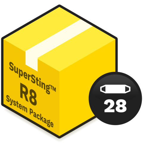 AGI System Package - SuperSting R8 Wifi with 28 electrodes