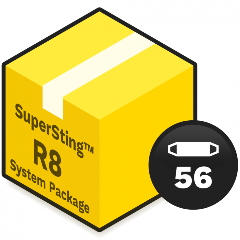 AGI System Package - SuperSting R8 Wifi with 56 electrodes