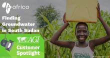 AGI Customer Spotlight: 4africa | Finding Groundwater in South Sudan
