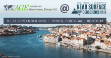 AGE will be at the Near Surface Conference 9/9 - 9/13