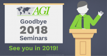 Goodbye 2018 Seminars. See you in 2019!