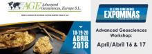 AGE at Expominas 2018 April 16th- 20th