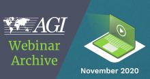 AGI Blog - Webinar Archive November 2020